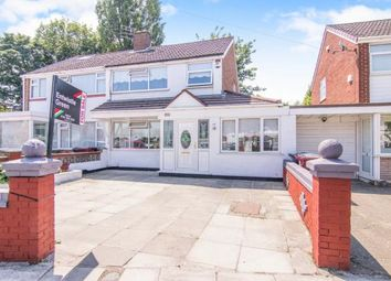 Thumbnail 3 bed semi-detached house for sale in Mount Crescent, Kirkby, Liverpool, Merseyside