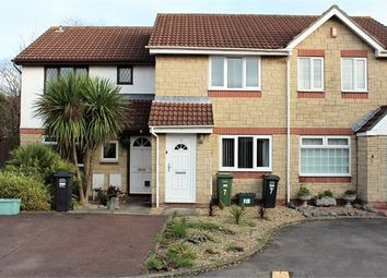 Thumbnail 2 bed terraced house for sale in Campion Close, Locking Castle, Weston-Super-Mare, North Somerset.