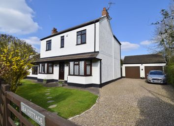 Thumbnail 4 bed detached house for sale in Melton Road, Hickling Pastures