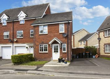 Thumbnail 2 bed terraced house for sale in Longtown Grove, St. Brides Wentlooge, Newport