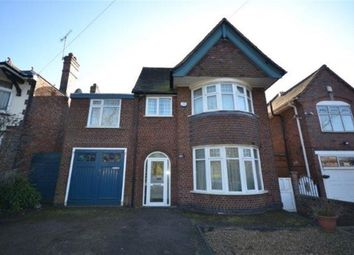 Thumbnail 5 bed detached house to rent in Victoria Park Road, Clarendon Park, Leicester