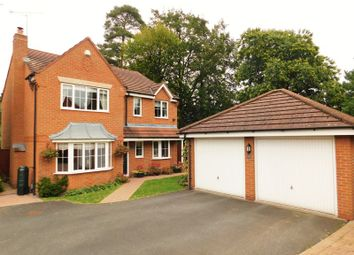 Thumbnail 4 bed detached house for sale in Burton House Gardens, Moss Pit, Stafford