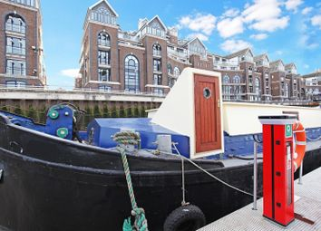 Thumbnail 1 bed houseboat to rent in Plantation Wharf Quay, London