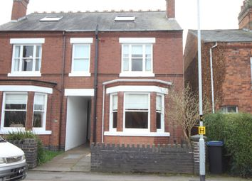 Thumbnail 4 bed semi-detached house for sale in Sketchley Road, Burbage, Hinckley