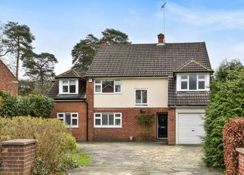 Thumbnail 4 bed detached house for sale in Elsenwood Crescent, Camberley