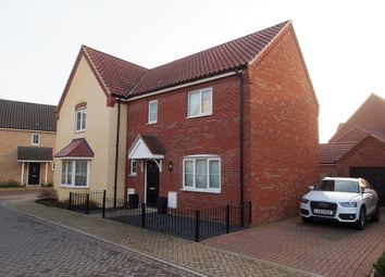 Thumbnail 3 bed semi-detached house for sale in Blazey Drive, Wymondham