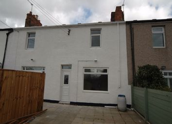Thumbnail 2 bed terraced house to rent in Pit Row, Silksworth, Sunderland, Tyne & Wear