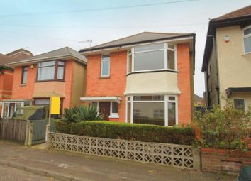 Thumbnail 3 bed detached house to rent in Brassey Road, Winton, Bournemouth