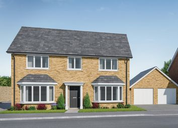 Thumbnail 4 bed detached house for sale in Scholars Close, Manea, March