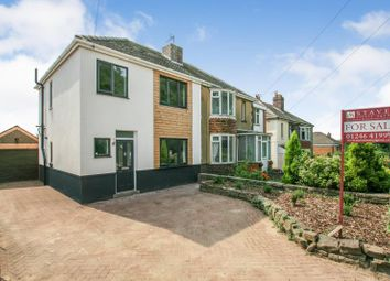 Thumbnail 3 bed semi-detached house for sale in Green Lane, Dronfield, Derbyshire