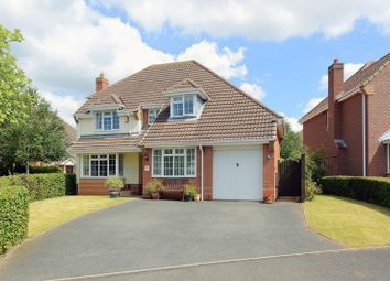 Thumbnail 4 bed detached house for sale in Southwell Close, Priorslee, Telford, Shropshire.