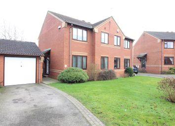 Thumbnail 3 bedroom semi-detached house for sale in Pinfold Garth, Sherburn In Elmet, Leeds