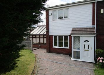 Thumbnail 2 bed town house for sale in Priestley Way, Shaw, Oldham