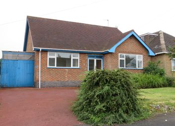 Thumbnail 2 bedroom detached bungalow for sale in The Meadway, Burbage, Hinckley