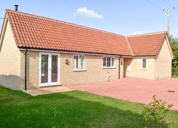 Thumbnail 3 bed detached bungalow for sale in Mill Road, Peasenhall, Saxmundham
