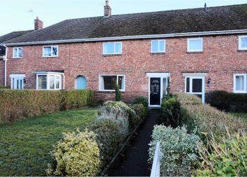 Thumbnail 3 bed terraced house to rent in Church Road, Chester
