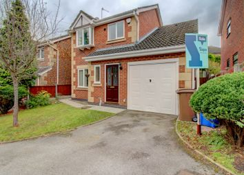 Thumbnail 3 bed detached house for sale in Shakespeare Close, Milton, Stoke-On-Trent