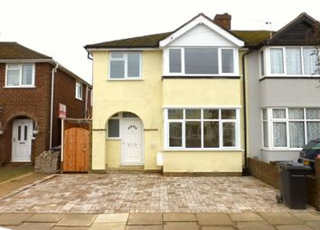 Thumbnail 3 bed semi-detached house to rent in Winchester Road, Bedford