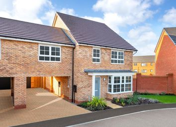 "Thumbnail 4 bed semi-detached house for sale in ""Chesham Special"" at Carters Lane, Kiln Farm, Milton Keynes"