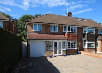 Thumbnail 4 bed semi-detached house for sale in Heath Side, Petts Wood, Orpington