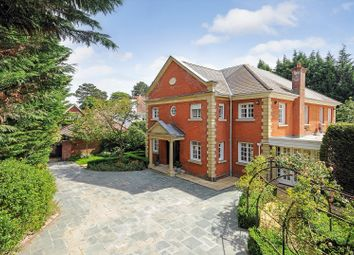 Thumbnail 6 bed detached house to rent in Cross Road, Sunningdale, Ascot, Berkshire