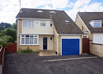 Thumbnail 4 bed detached house for sale in Hillside Way, Northampton