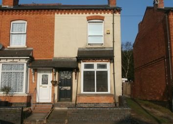 Thumbnail 2 bedroom end terrace house for sale in Lincoln Road, Acocks Green, Birmingham