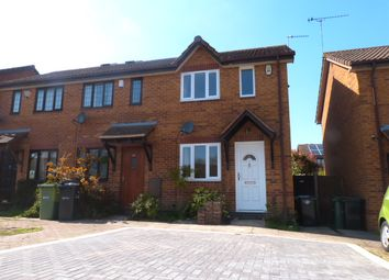 Thumbnail 1 bed end terrace house to rent in Middles Avenue, Lyppard Hanford, Worcester