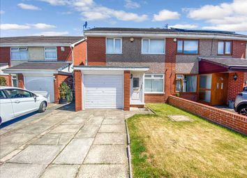 Thumbnail 3 bed semi-detached house for sale in Ellwood Close, Hale Village, Liverpool