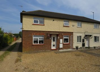 Thumbnail 3 bed semi-detached house for sale in Roman Bank, Long Sutton, Spalding