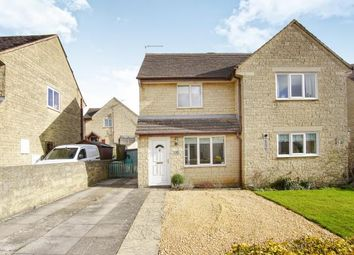 Thumbnail 2 bed semi-detached house for sale in Longtree Close, Tetbury, Gloucestershire