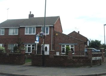 Thumbnail 2 bed semi-detached house for sale in Elmton Close, Creswell, Worksop, Nottinghamshire