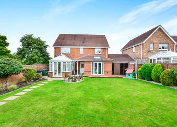 Thumbnail 4 bed detached house for sale in Willoughby Close, Westbury