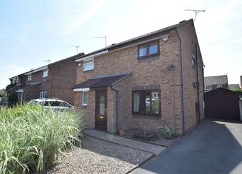 Thumbnail 2 bed semi-detached house for sale in Sywell Close, Swanwick, Alfreton, Derbyshire