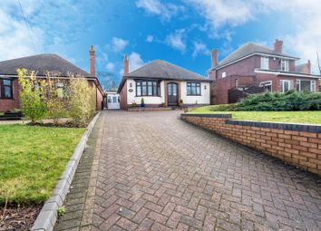 Thumbnail 4 bed detached bungalow for sale in Wolverhampton Road, Cheslyn Hay, Walsall