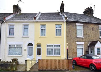 Thumbnail 2 bed terraced house for sale in Gordon Road, Strood, Rochester, Kent