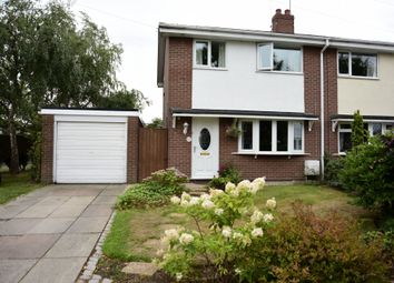Thumbnail 3 bed semi-detached house for sale in Chatham Way, Haslington, Crewe