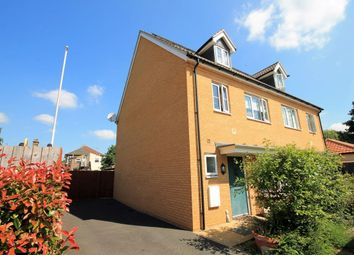 Thumbnail 4 bed semi-detached house to rent in Juliette Mews, Romford