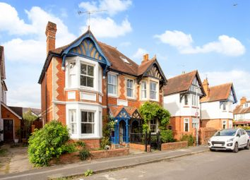 Thumbnail 4 bed semi-detached house for sale in Belle Avenue, Reading