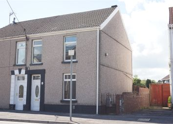 Thumbnail 2 bedroom semi-detached house for sale in Borough Road, Loughor