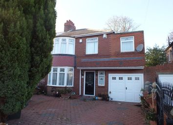 Thumbnail 5 bedroom semi-detached house for sale in Keldane Gardens, Newcastle Upon Tyne
