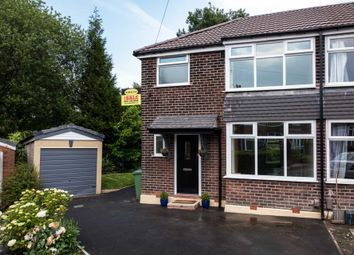 Thumbnail 4 bed semi-detached house for sale in Balmoral Grange, Prestwich, Manchester
