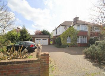 Thumbnail 4 bed semi-detached house for sale in Onslow Gardens, Grange Park, London