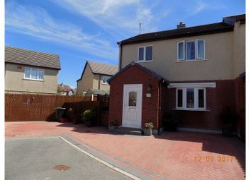 Thumbnail 3 bed end terrace house for sale in Bro Ednyfed, Llangefni