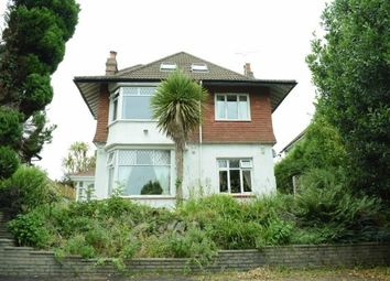 Thumbnail 5 bed detached house to rent in Gower Road, Sketty, Swansea