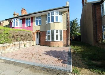 Thumbnail 3 bedroom semi-detached house for sale in Benacre Road, Ipswich