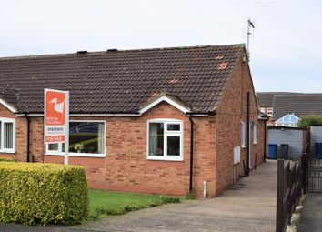 Thumbnail 2 bed semi-detached bungalow for sale in Tennyson Close, Caistor, Market Rasen