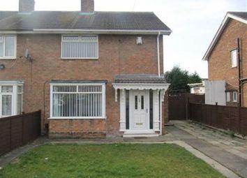 Thumbnail 3 bedroom property to rent in Coleridge Gardens, Darlington