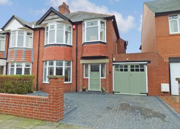 Thumbnail 3 bed semi-detached house for sale in The Avenue, Loansdean, Morpeth