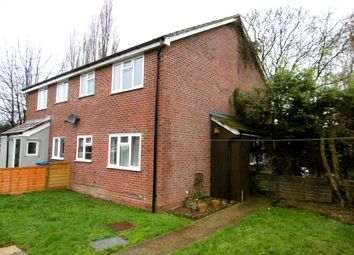 Thumbnail 1 bed end terrace house to rent in Mallard Way, Great Cornard, Sudbury